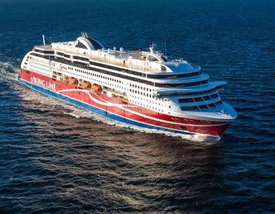 Kommer att bli några besök på Viking Grace de närmaste veckorna. (Bilden tagen från vikingline.se)